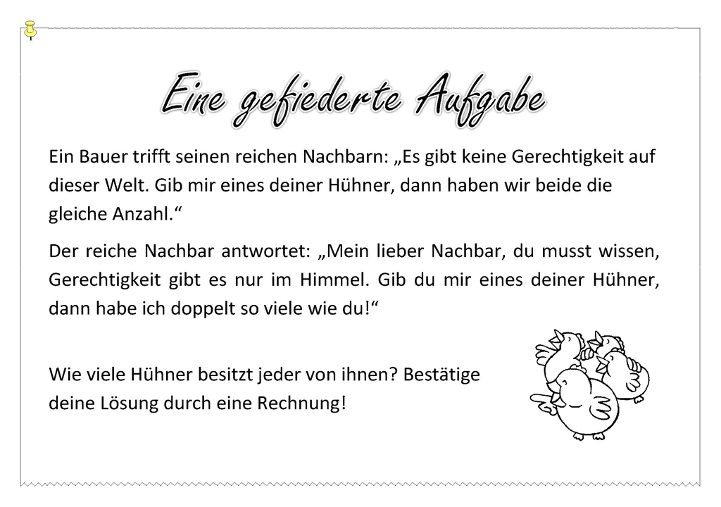 Charmant Mathematische Rätsel Galerie - Mathematik & Geometrie ...